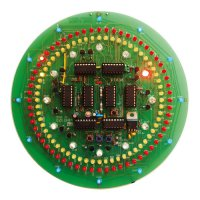 Stavebnice PT036 CMOS kruhové hodiny