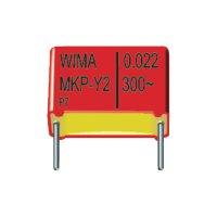 Odrušovací kondenzátor Wima MKPY2, 1500 pF, 300 V/AC, 10 %, 13 x 4 x 9,5 mm