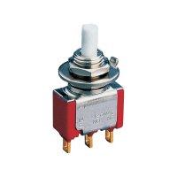 Miniaturní laboratorní tlačítko Eledis 5A21-F3STSE-B0, 2x zap/(zap), 230 V/AC, 0,5 A