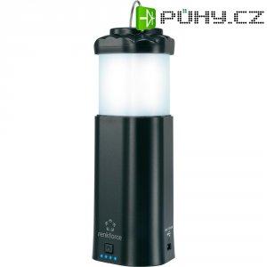 LED kempingová lucerna, kapesní svítilna a Powerbanka - 3 v 1, Renkforce černá