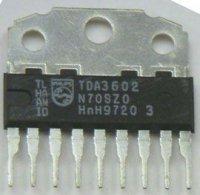 TDA3602 - 3x stabil. 2x5V+1x8,5V, SIL9