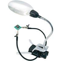 Třetí ruka s lupou a LED osvětlením Bresser