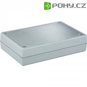Pouzdro zpoloskořepin Strapubox, (d x š x v) 134 x 89 x 33 mm, šedá