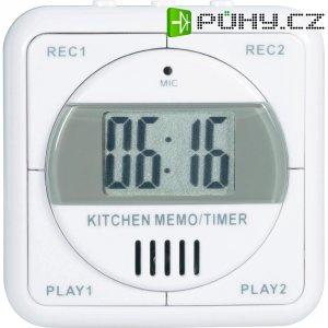 Digitální časovač s pamětí zpráv, DX-H106, 74 x 76 x 26 mm