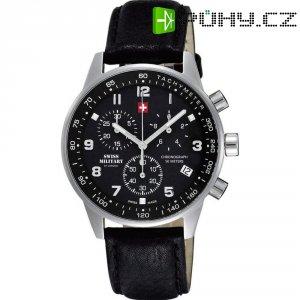 Ručičkové náramkové hodinky Swiss Military Chronograph, 20042ST-1L, gumový pásek