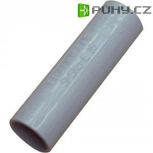 Spojka pro pevné trubky EN 25, šedá, 2 kusy
