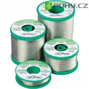 Cínová pájka PBF, Sn95,5Ag3,8Cu0,7, Ø 1 mm, 250 g, Stannol Flowtin TS