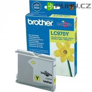 Cartridge Brother LC-970, LC970Y, žlutá