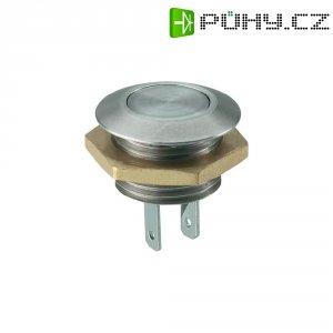 Tlačítko antivandal bez aretace MSW1201, 16 V/DC, 0.05 A, nerezová ocel, 1x vyp/(zap)
