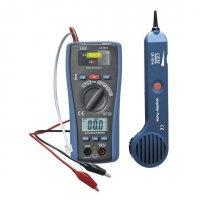 Multimetr LA1014 s testerem kabelů