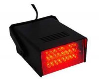 LED stroboskop - červený