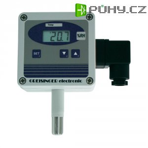 Nastavitelný převodník rel. vlhkosti a teploty vzduchu, Greisinger GHTU-1R MP, 112490