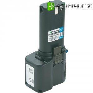 Náhradní akumulátor pro akuvrtačky, šroubováky apod., APAE-9,6 V/2,0 AH