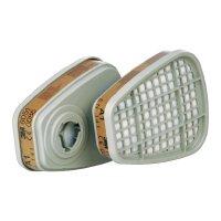 Filtr 3M 6051, ochranný stupeň A1, 4 páry