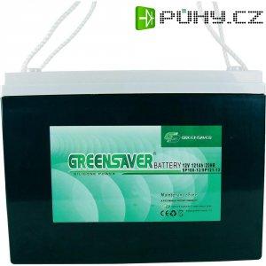 Olovo-silikon akumulátor, 12V/125 Ah, Greensaver SP12512