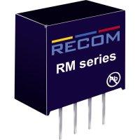 DC/DC měnič Recom RM-0505S/P (10003818), vstup 5 V/DC, výstup 5 V/DC, 50 mA, 0,25 W