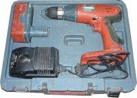 Aku vrtačka Extol CD18C 18V,0-350+0-1300ot/min, použitá, vadná baterie