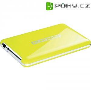 """Externí disk PLATINUM MYDRIVE 500GB 2,5\"""", žlutá"""