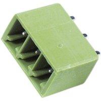 Vertikální svorkovnice PTR STLZ1550/2G-3.81-V (51550025125F), 2pól., zelená