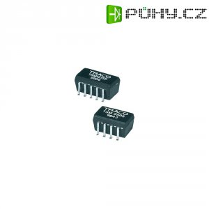 DC/DC měnič TracoPower TSM 0512S, vstup (±10 %) 5 V/DC, výstup 12 V/DC, 80 mA, 1 W