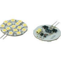 LED žárovka Renkforce, G4, 2,3 W, 30 V, 45 mm, teplá bílá