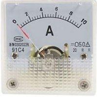 91C4 panelový MP 10A = (75mV) 45x45mm, bez bočníku