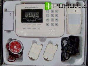 Bezdrátový alarm GSM-01LED