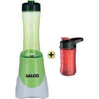 Smoothie Maker Salco SM14 Mix & Go, 300 W, bílá/zelená