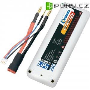 Akupack Li-Pol (modelářství) Conrad energy 209059, 7.4 V, 4000 mAh