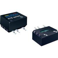 DC/DC měnič Recom R1D-0505 (10900000), vstup 5 V/DC, výstup ± 5 V/DC, ± 100 mA, 1 W