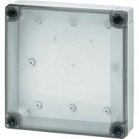 Polykarbonátové pouzdro MNX Fibox, (d x š x v) 130 x 80 x 50 mm, šedá (MNX PC 100/50 LT)