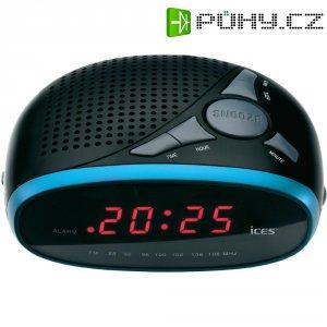 Modrý radiobudík Ices ICR-200
