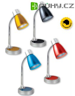 VELAMP LED Stolní lampa, 4 barevné provedení TL006