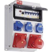 Plastový rozbočovač s jističem Anif7 BV PCE, 9135119, 400 V, 16 A, IP54