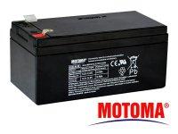 Baterie olověná 12V 3,2Ah MOTOMA bezúdržbový akumulátor