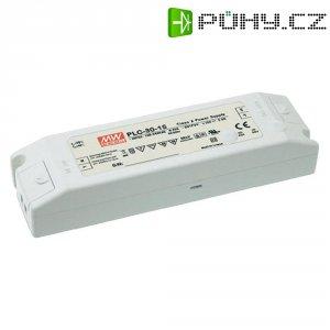 Vestavný spínaný zdroj MeanWell PLC-30-24 LED, 24 VDC, 30 W