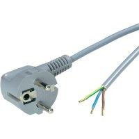 Síťový kabel LappKabel, zástrčka/otevřený konec, 0,75 mm², 3 m, šedá