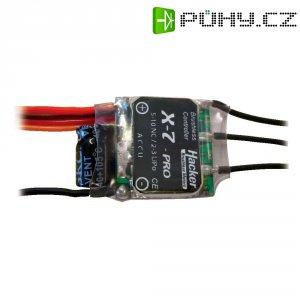 Regulátor otáček Brushless Hacker X-Pro, 5 - 10 NiCd / 2 - 3 LiPo, 7 A, JR