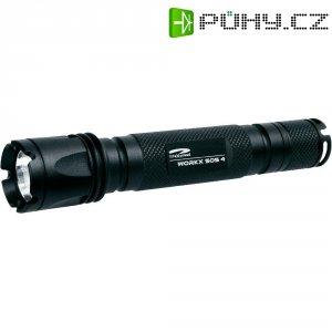 Kapesní LED svítilna LiteXpress Workx SOS 4, LXL433001, černá