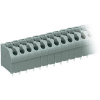 Pájecí svorkovnice série 250 WAGO 250-507, AWG 20-16, 0,4 - 0,8 mm², 5 mm, 2 A, šedá
