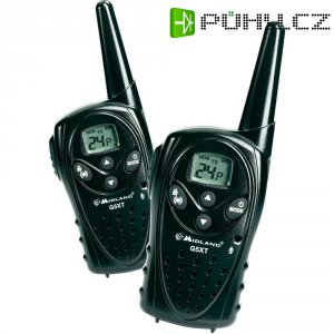 PMR radiostanice Midland G5XT C897, sada 2 ks