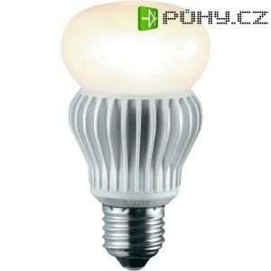 LED žárovka Sygonix, E27, 11,5 W, 230 V, 110 mm, teplá bílá