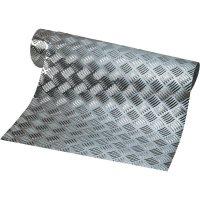 Ozdobná hliníková rohožka 120 x 55 cm