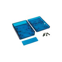 Univerzální pouzdro ABS Hammond Electronics 1593KTBU, 66 x 66 x 28 mm, modrá (1593KTBU)