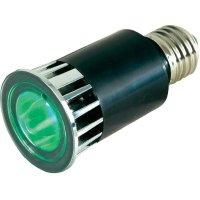 LED žárovka MR R ADJ, E27, 5 W, zelená