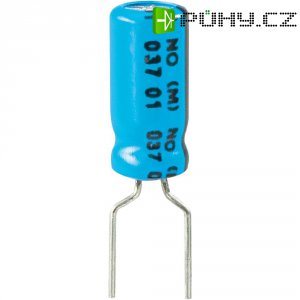 Kondenzátor elektrolytický Vishay 2222 037 38478, 4,7 µF, 63 V, 20 %, 11 x 5 mm