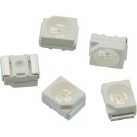 SMD LED Würth Elektronik, 150141GS73100, 30 mA, 3,1 V, 120 °, 1000 mcd, zelená