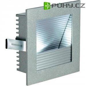 Vestavné LED svítidlo SLV Frame Curve 111290, 1 W, stříbrná/hliník