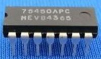 75450 - 2x driver NAND TTL, DIL14 /75450PC/