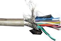 Stíněný kabel 20x 0,1mm2, společné stínění, průměr 9mm, balení 75m